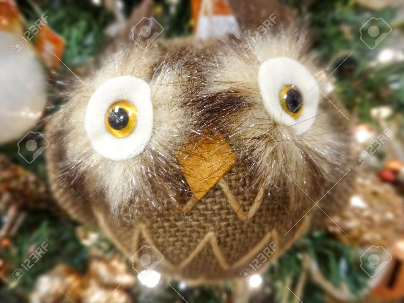 Artesanais De Natal Animais Brinquedo Decoração Foto Royalty Free