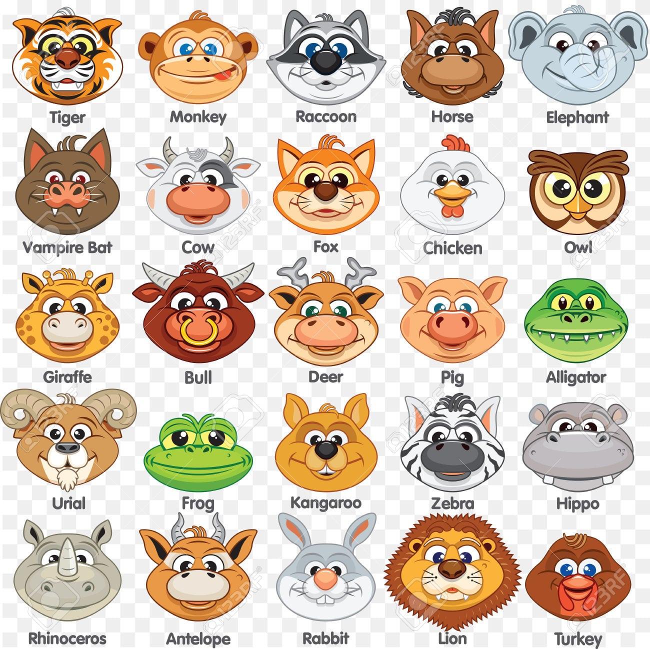 Plantilla De Máscaras De Animales Para Imprimir  Máscara De Papel