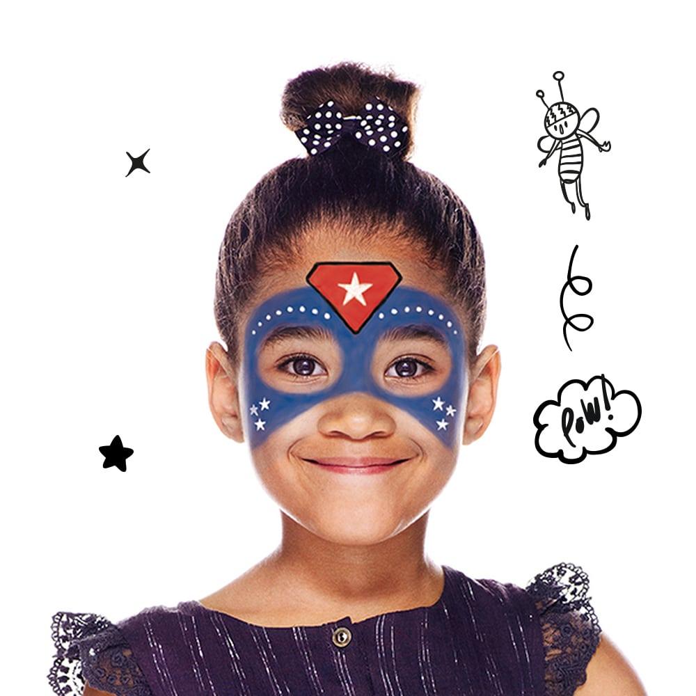 Cómo Pintar Una Pintura De Cara De Superhéroe  ¿a Qué Niño No Le