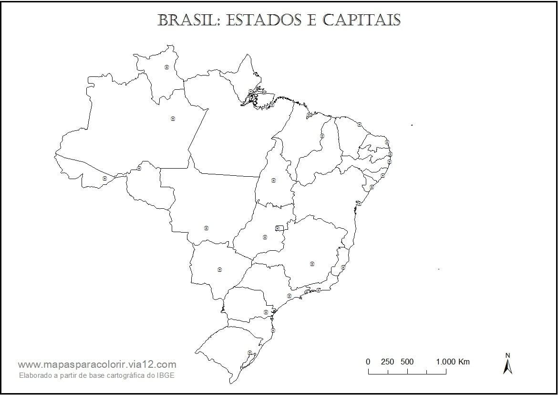 Mapa Do Brasil Brazil Brasil Coloring City  Mapa América Do Sul  Mapa
