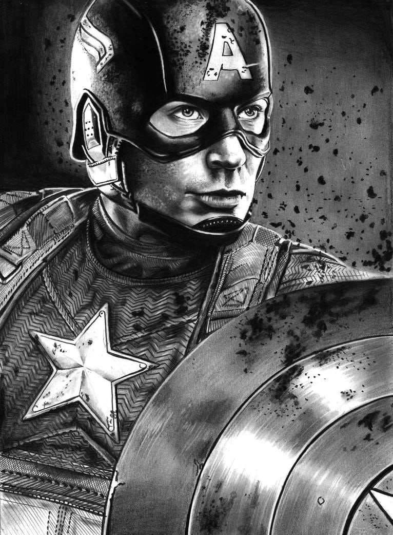 Capitao America By Mikeartsassis On Deviantart
