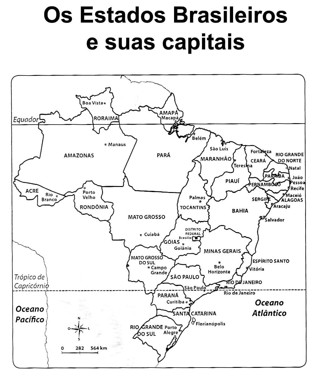 Mapas Fonte  Cantinho Da Dezinha
