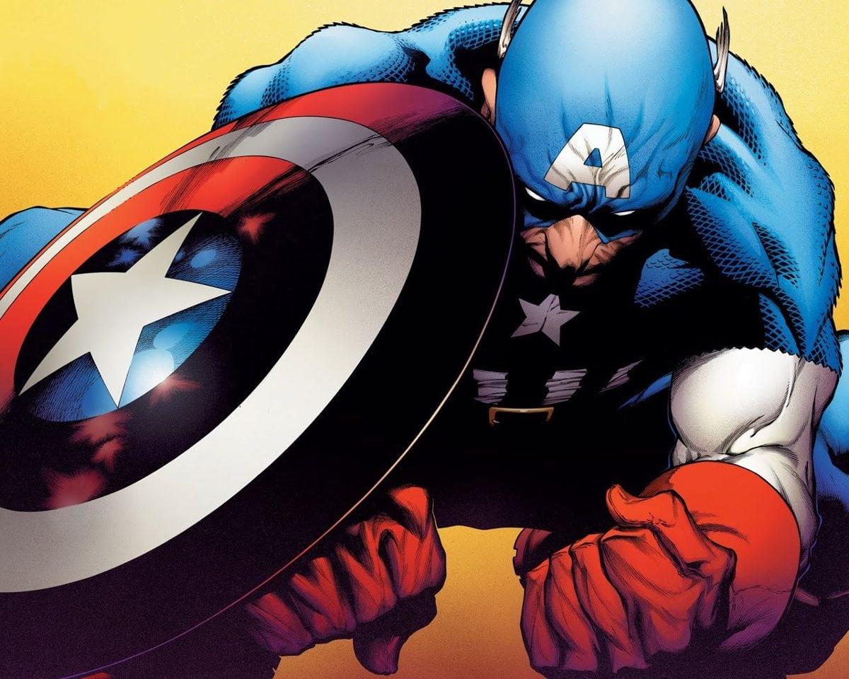 Coleção Desenho Capitão America