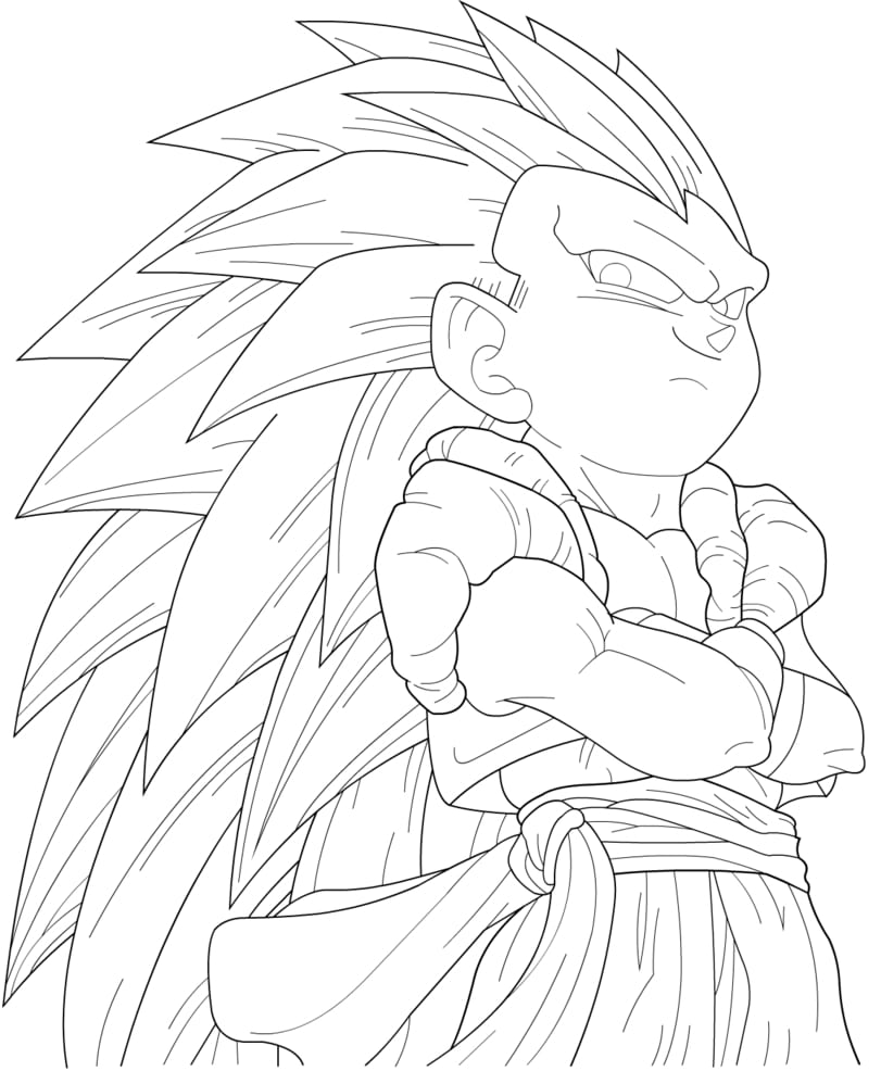 40 Desenhos De Dragon Ball Z Para Colorir, Pintar, Imprimir Grátis