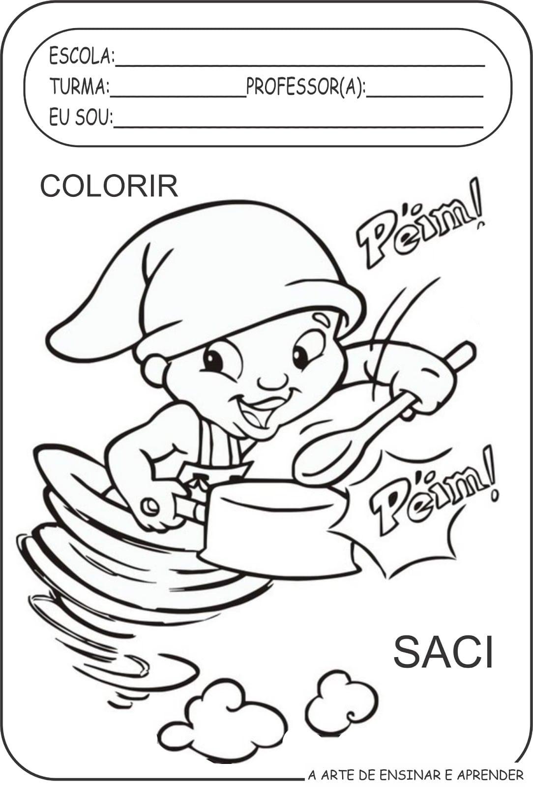 Personagens De Monteiro Lobato Para Colorir ~ Desenhos Para Colorir Cozinha