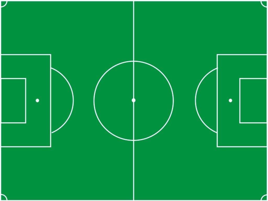 Desenho De Campo De Futebol Para Imprimir
