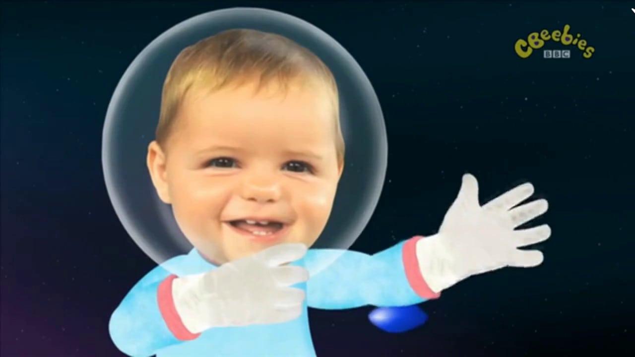 Baby Jacky (le Encanta Pintar El Espacio) Hd Latino Cbeebies