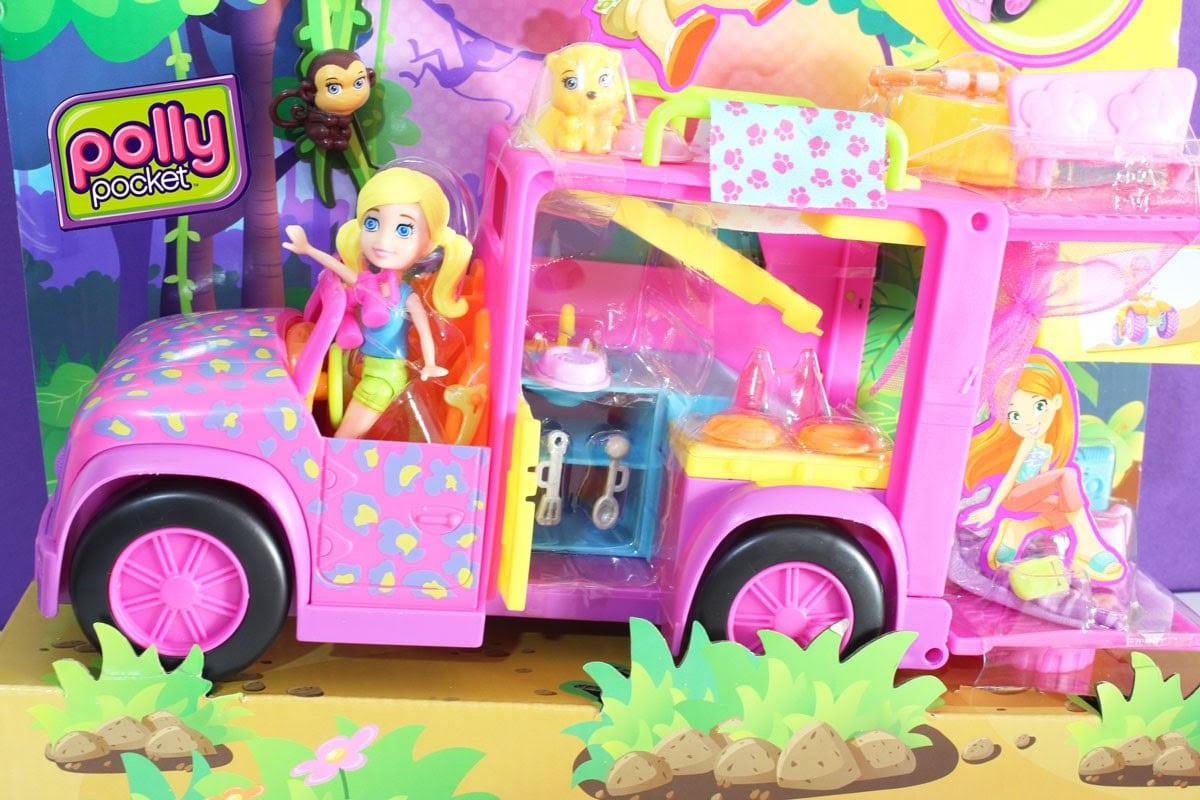 Playset Trailer Safari Da Polly Pocket Slumber Party Camping