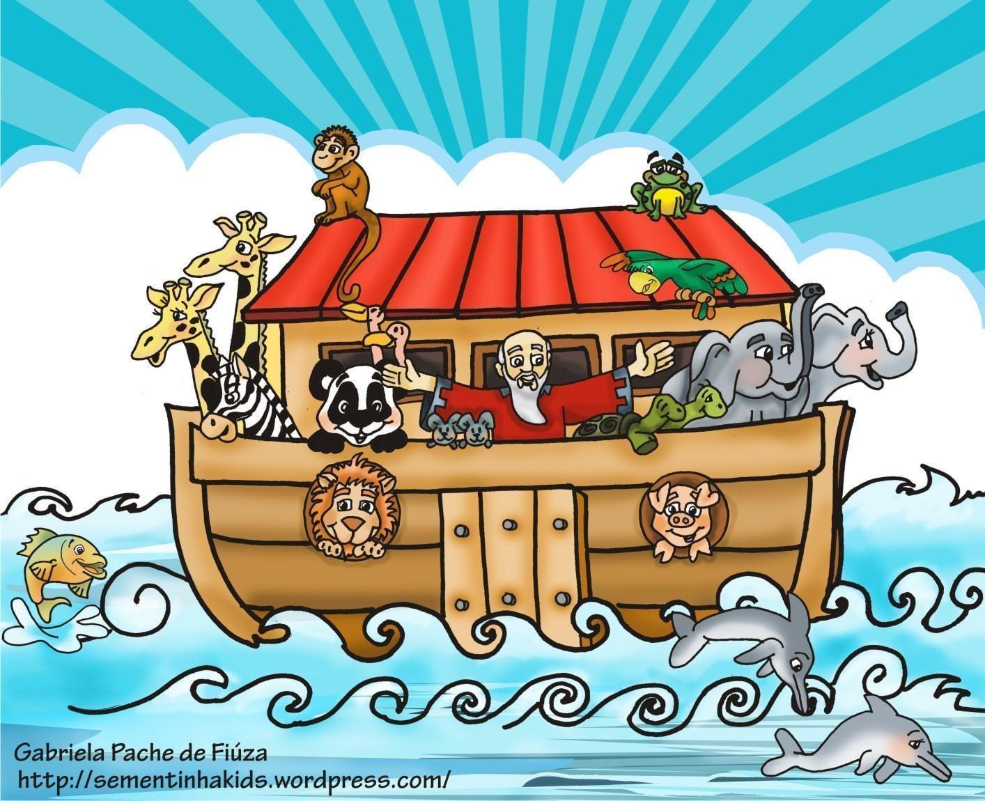 Desenhos Bíblicos De Noé Para Imprimir Para Crianças Evangélicas