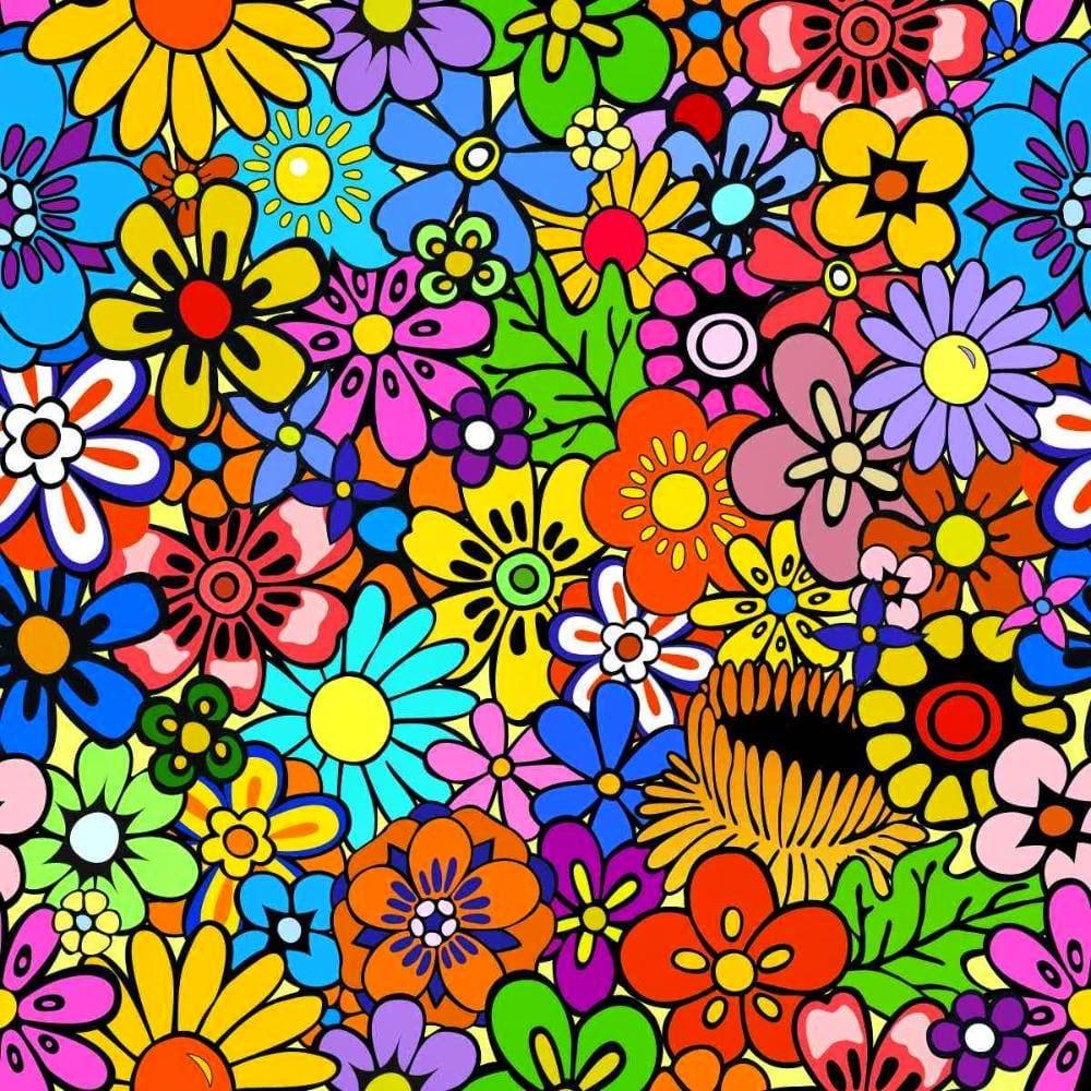 Desenhos De Flores Coloridas Para Imprimir
