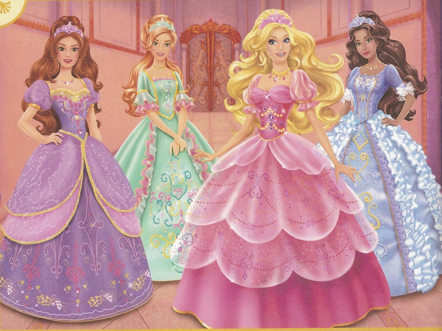 Cia  Do Papel De Arroz  Barbie E As Três Mosteira