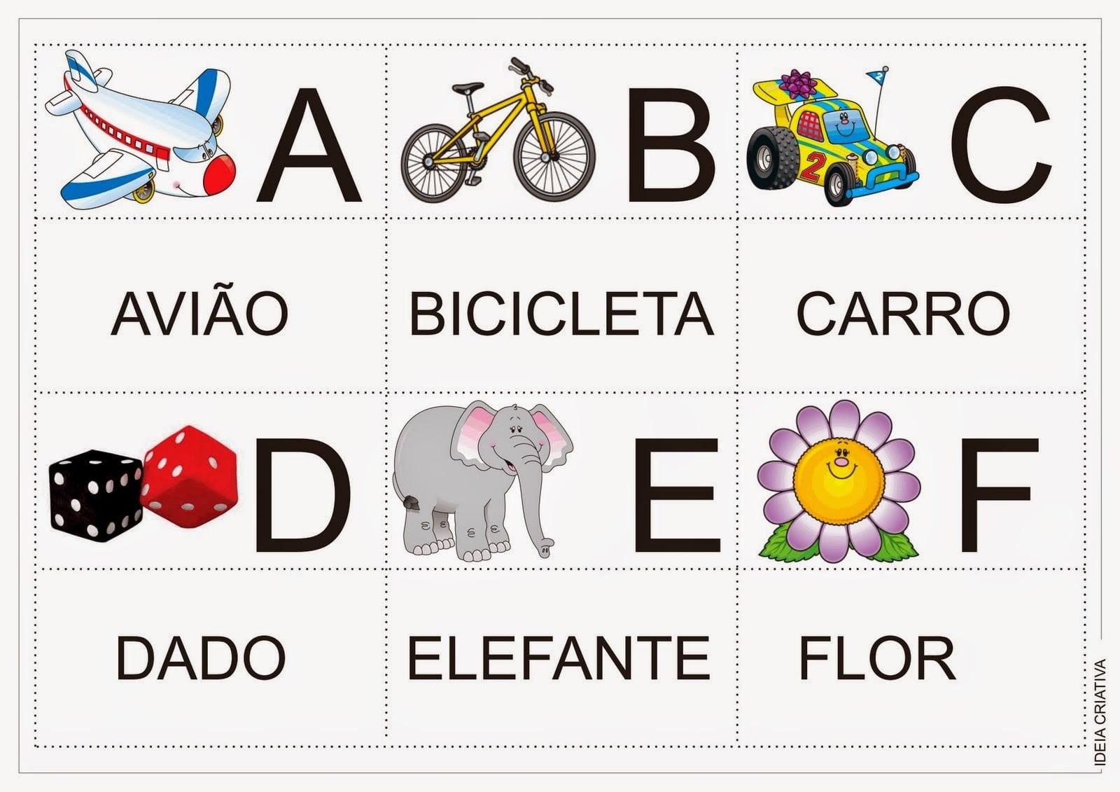 Loucos Por Tecnologias  Educação Infantil  Alfabeto Jogo Da