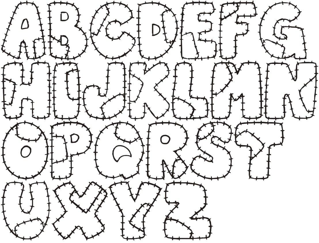 Alfabetos Para Patchcolagem