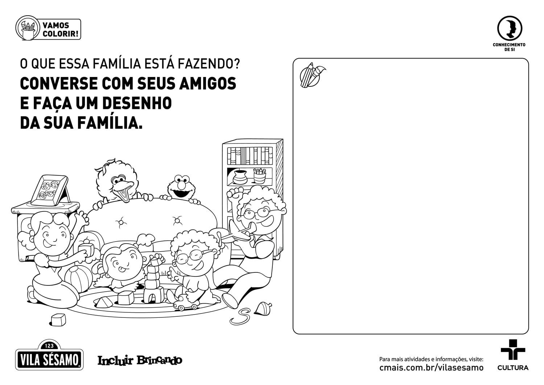 Desenhe Sua Família