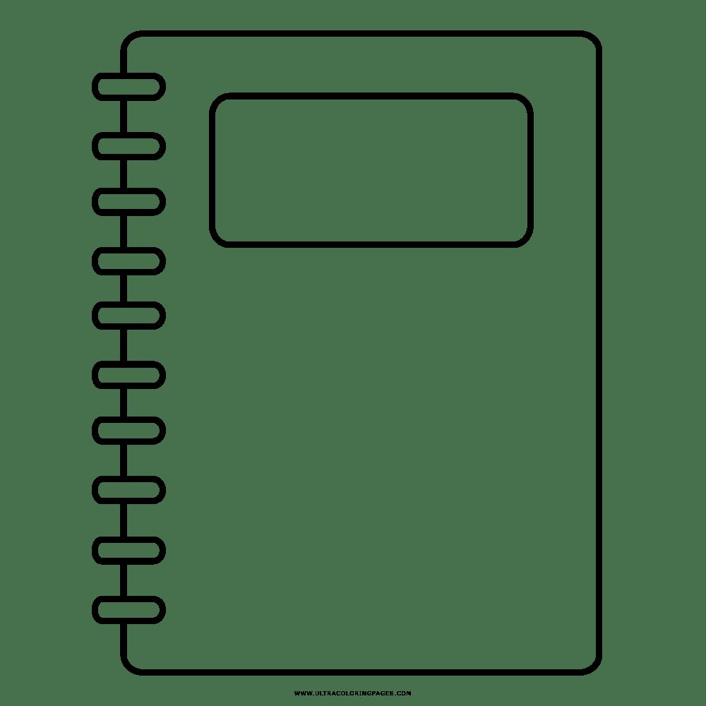 Caderno Desenho Para Colorir