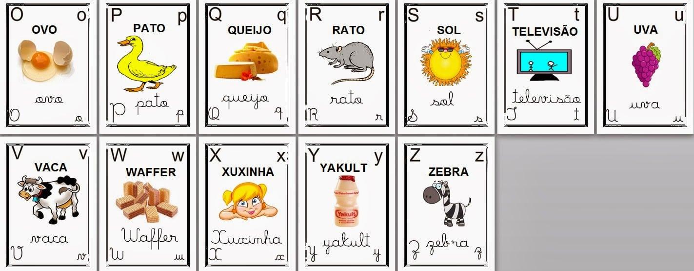 Cantinho Da Tia Lua  Alfabeto Ilustrado