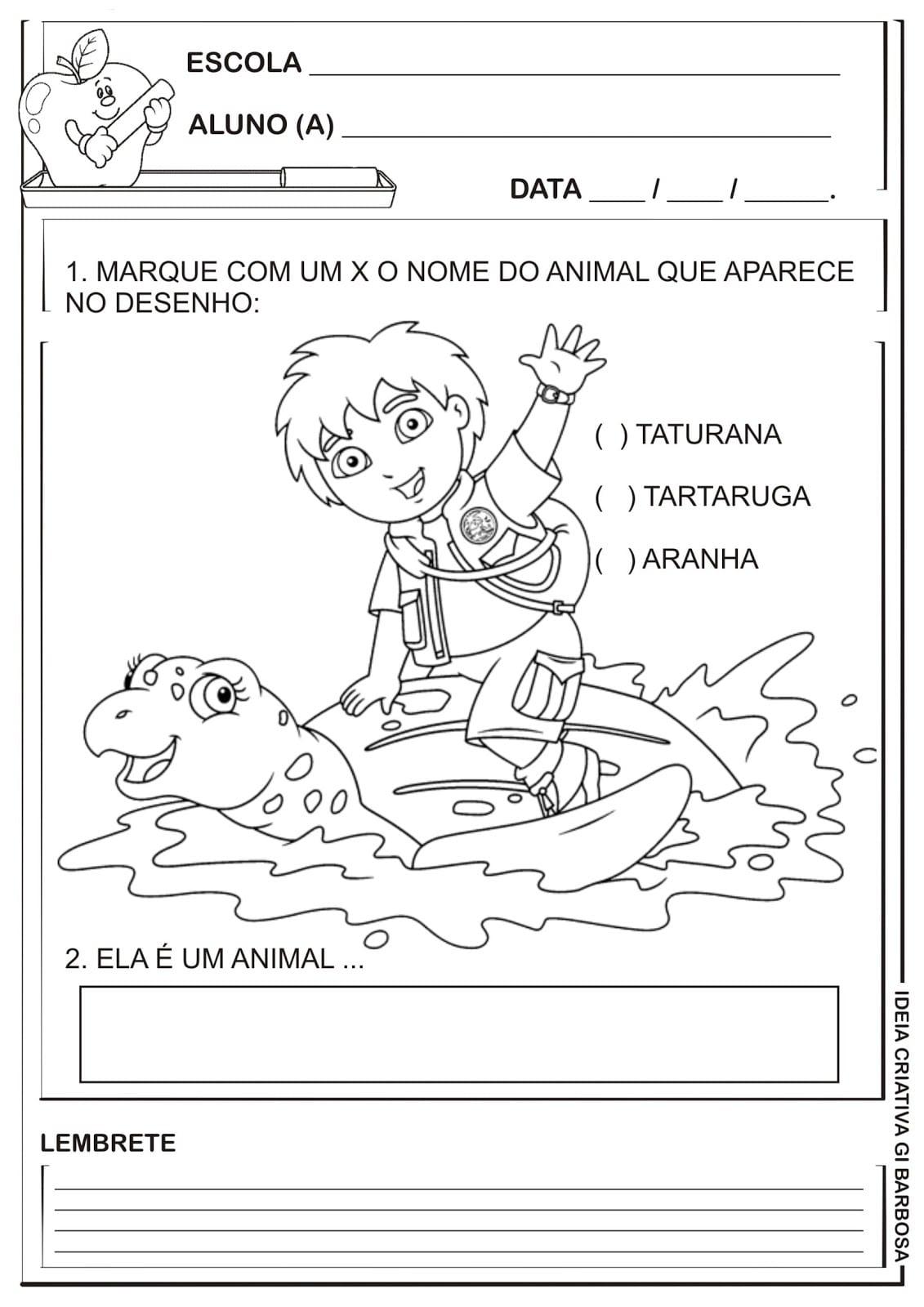 Desenhos De Animais Em Extin