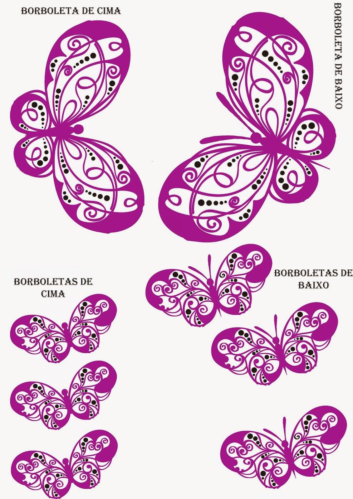 Criatividade Tamy  Diy  Adesivo Borboleta 3d