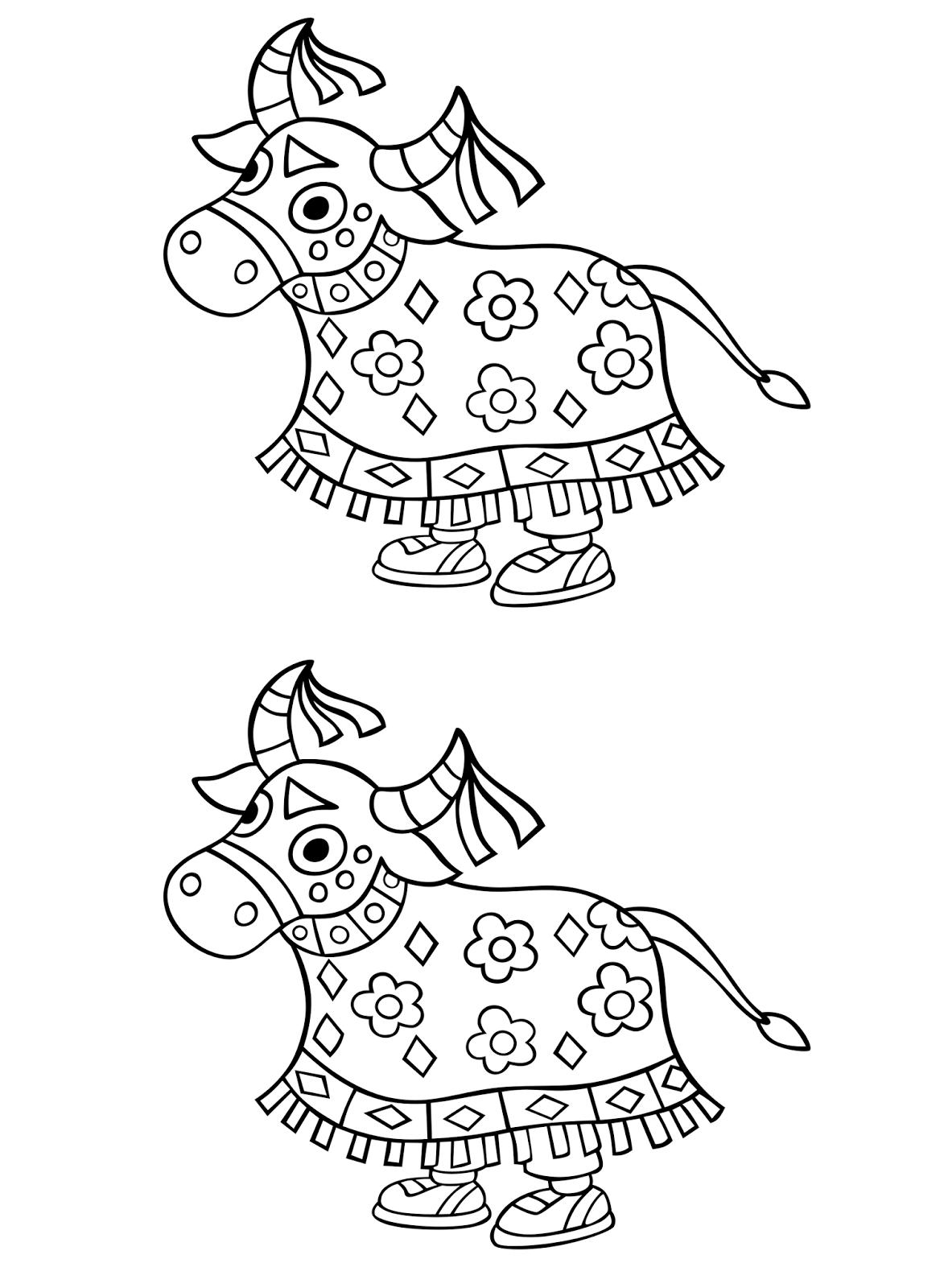 Desenho Do Boi Bumba