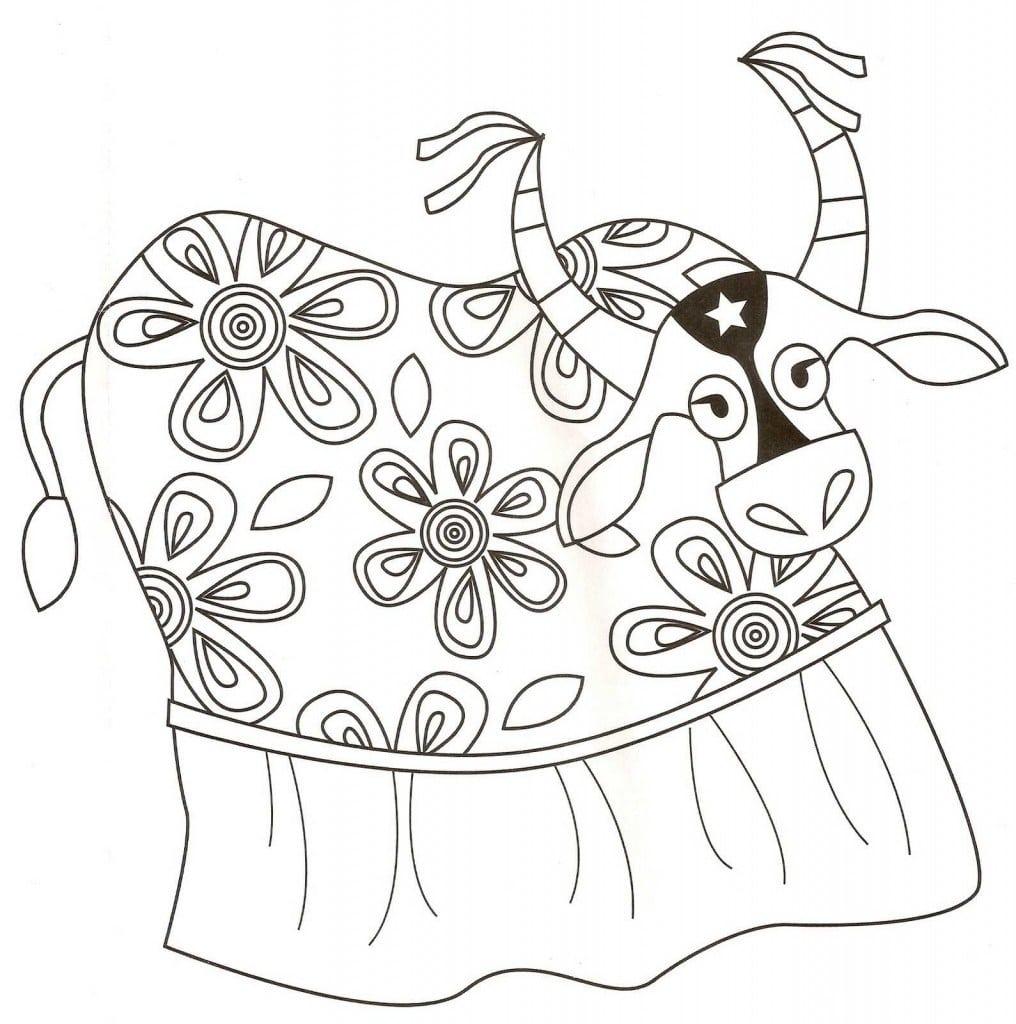 Desenhos Do Folclore Para Colorir E Imprimir