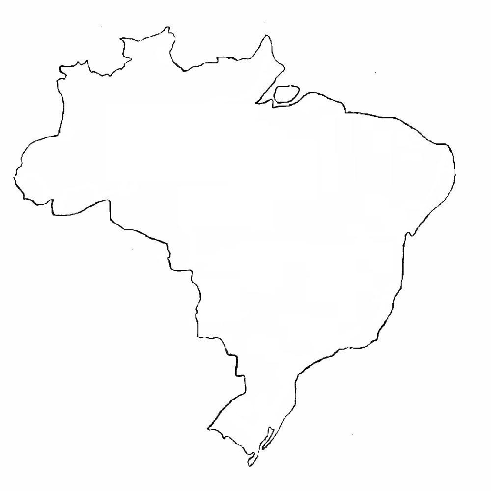 Mapa Do Brasil Desenho
