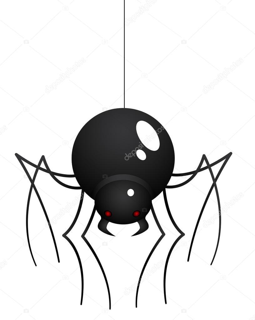 Aranha Desenhos Animados — Vetores De Stock © Baavli  13710003