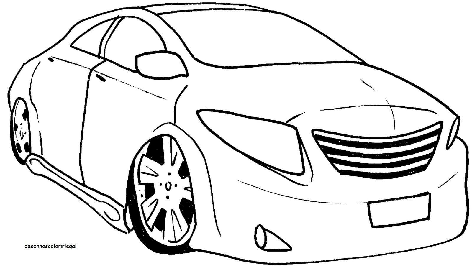 Conhecido Carros Para Colorir E Imprimir TB51