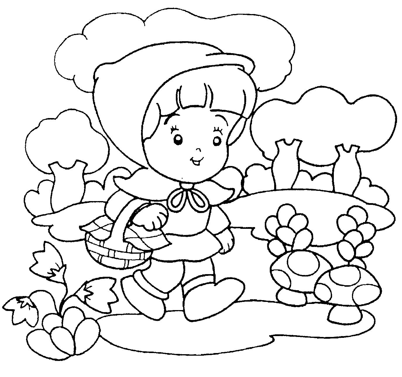 Desenhos Para Colorir Chapeuzinho Vermelho E Lobo Mau – Pampekids Net