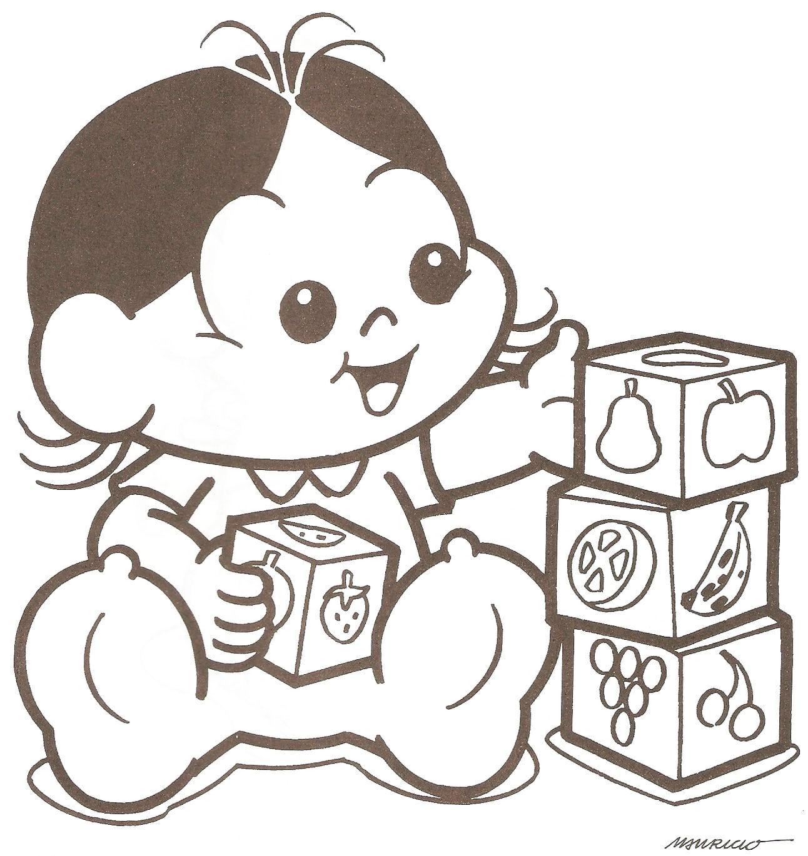 Jogo Desenhos Para Colorir Da Magali Baby No Jogos Online Wx