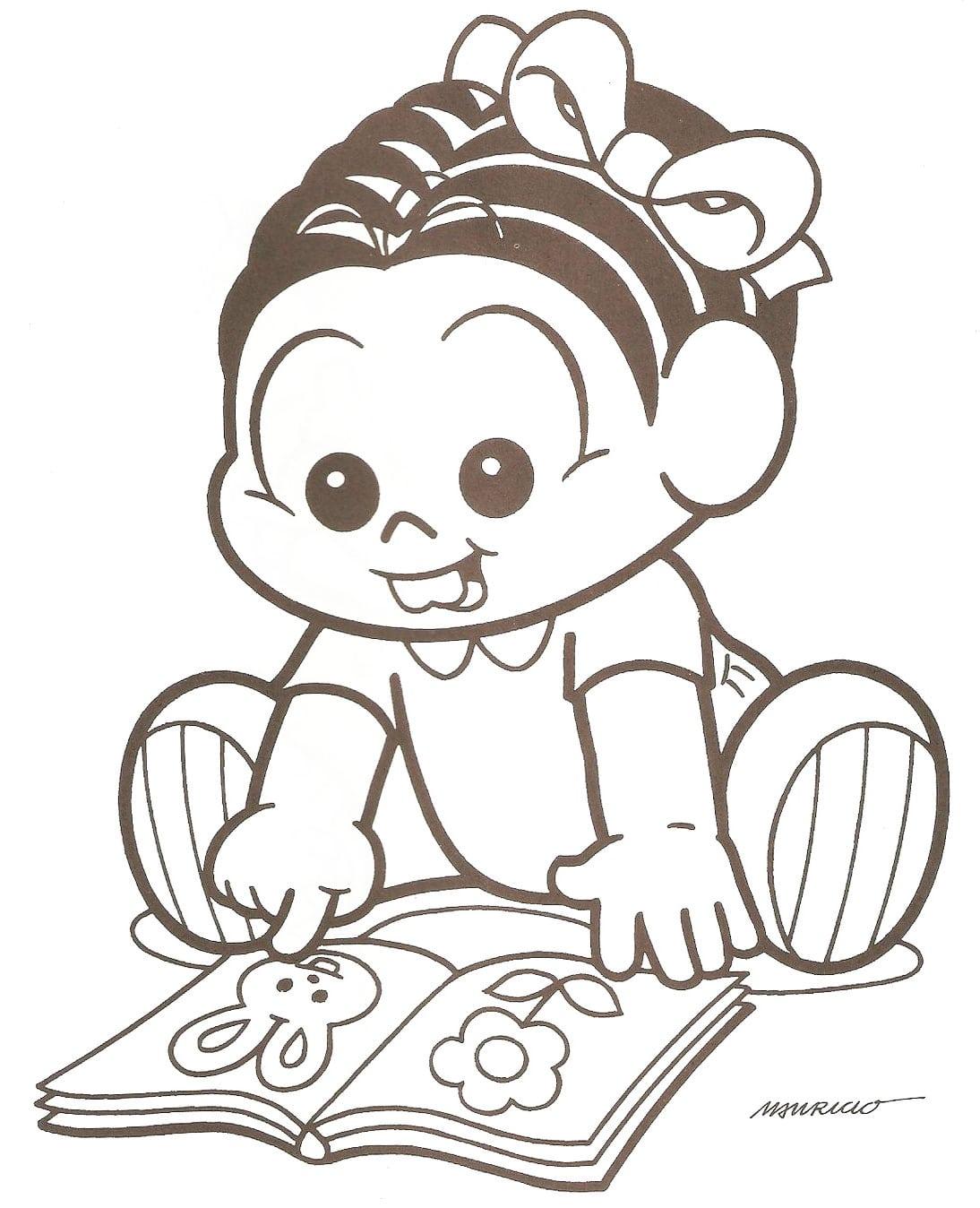 Desenhos Da Turma Da Monica Baby