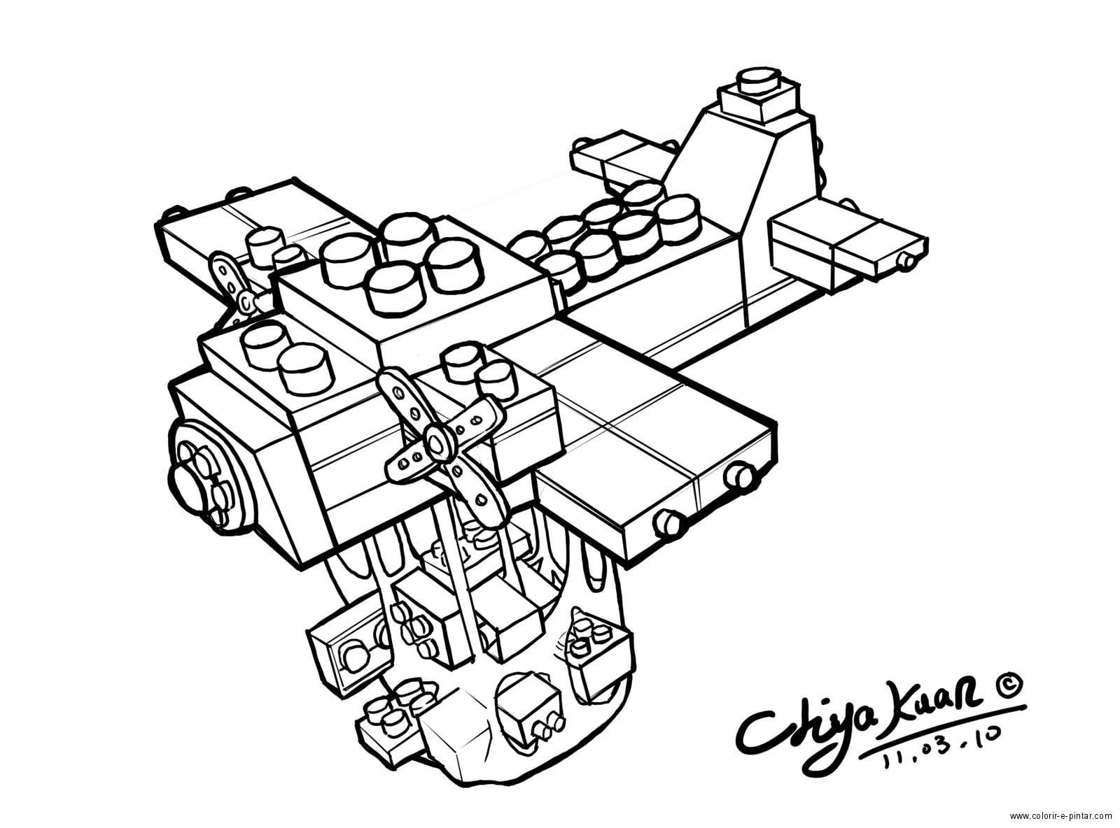 Desenhos Para Colorir Lego City
