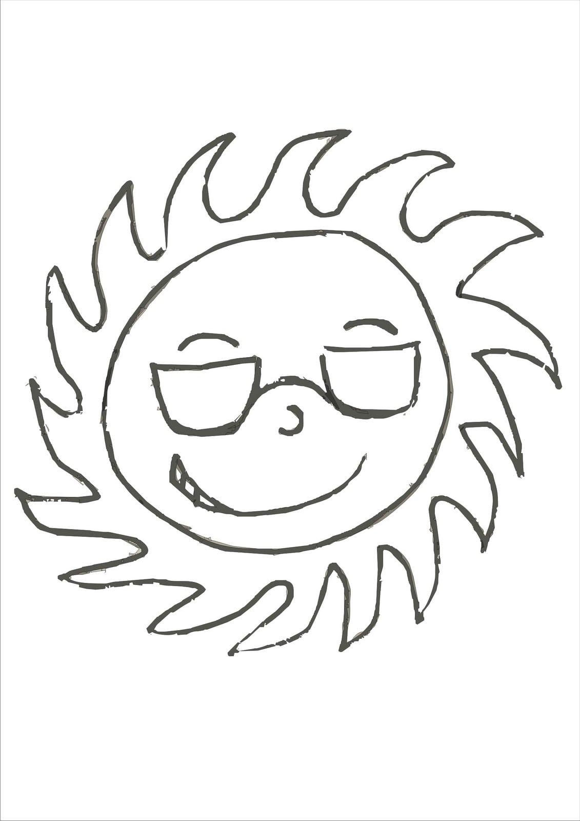 Colorir Sol