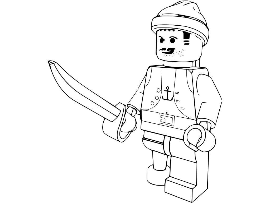 Desenhos Para Colorir Da Lego  Desenhoswiki Com