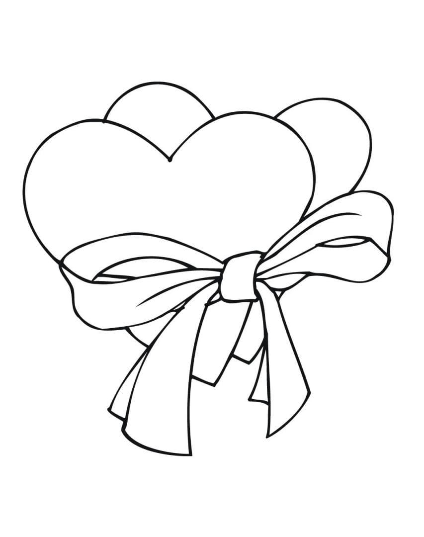 Desenhos Para Colorir De Amor – Pampekids Net