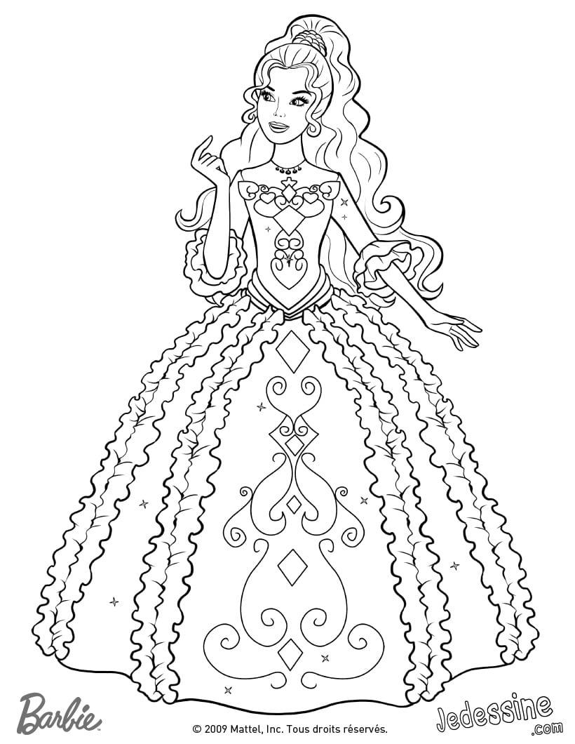 Desenho Do Barbie E As Três Mosqueteiras