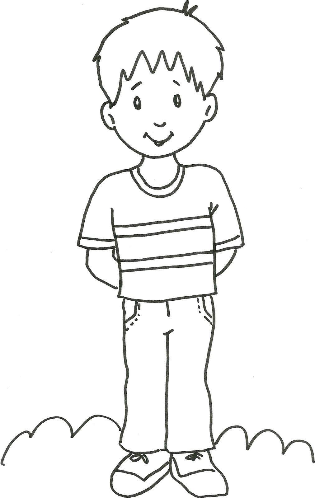 Desenhos Para Colorir Para Menino