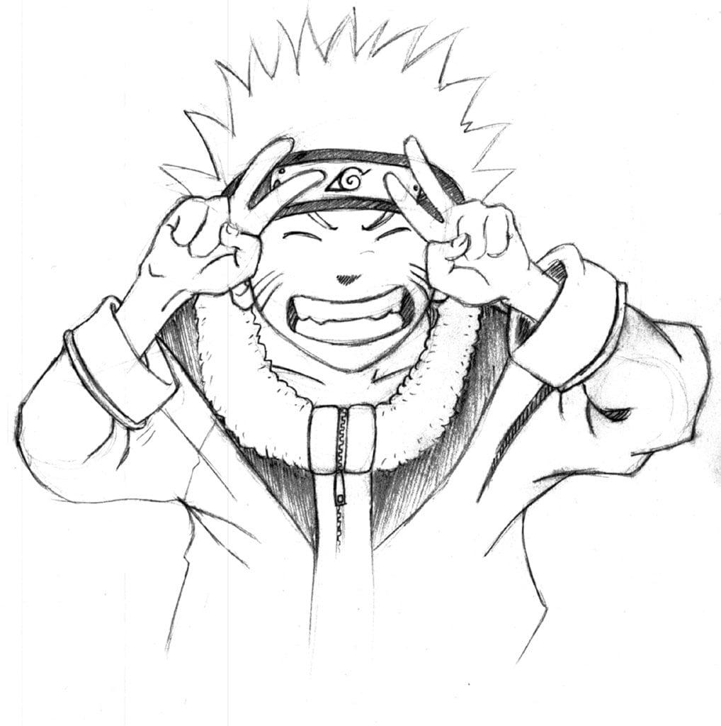 Desenhos Do Naruto Para Copiar