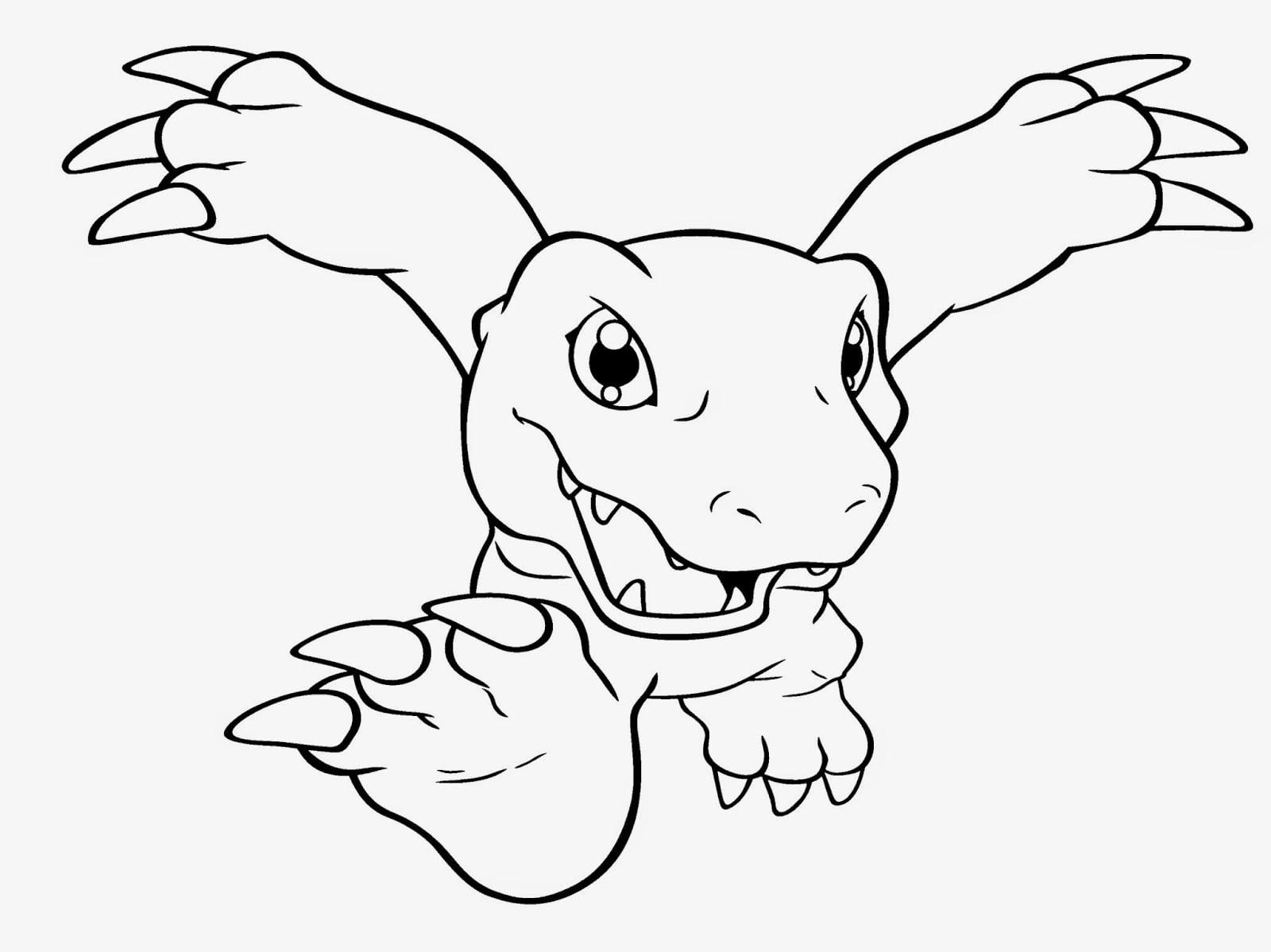 Desenhos De Digimon