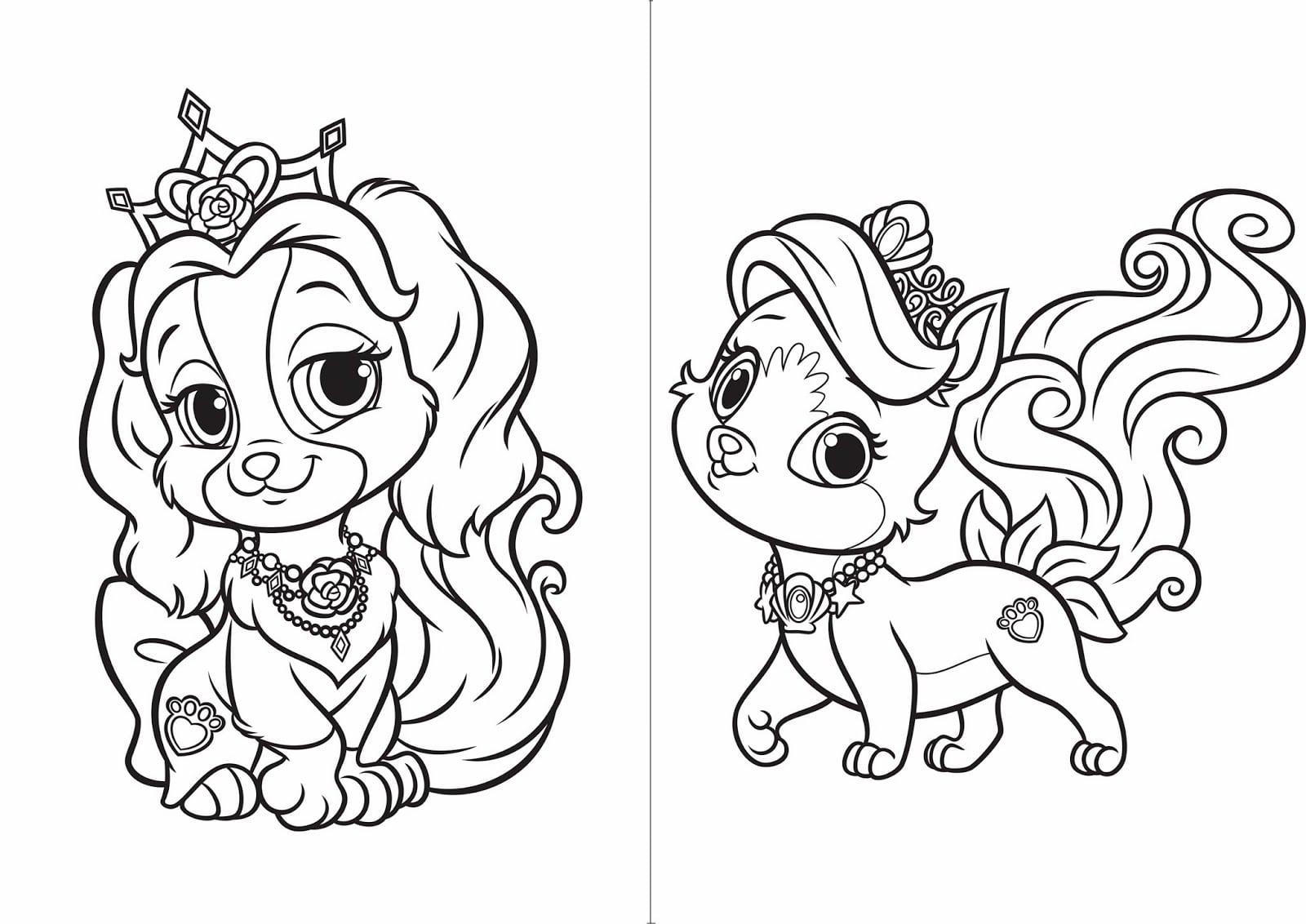 Desenhos Para Colorir Das Princesas Disney