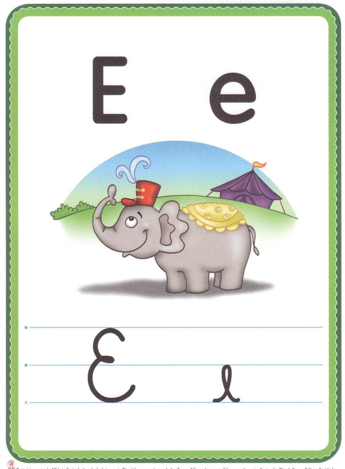 Espaço Saber  Alfabeto Ilustrado