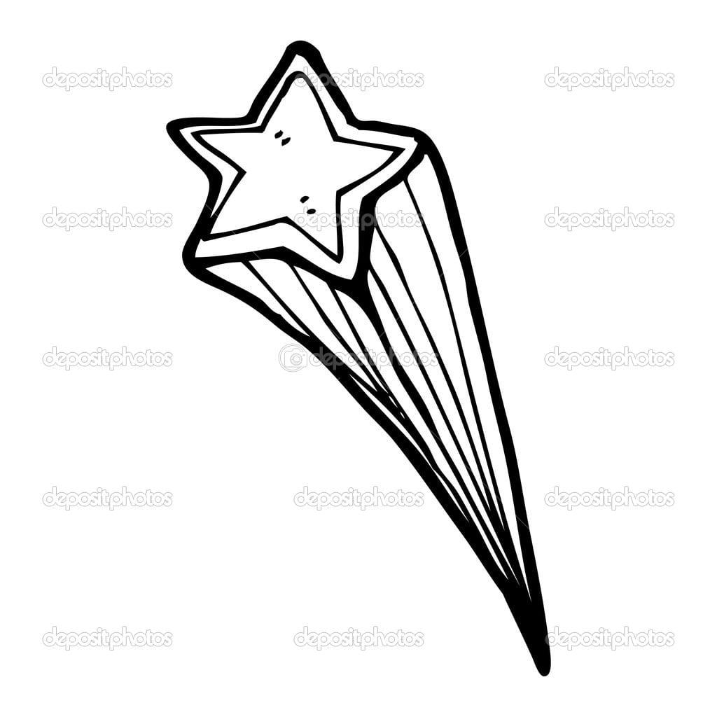 Imagens De Estrelas Cadentes Para Imprimir E Pintar