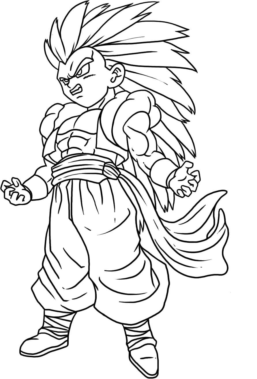 19 Dragon Ball Z Coloring Page, Free Printable Dragon Ball Z