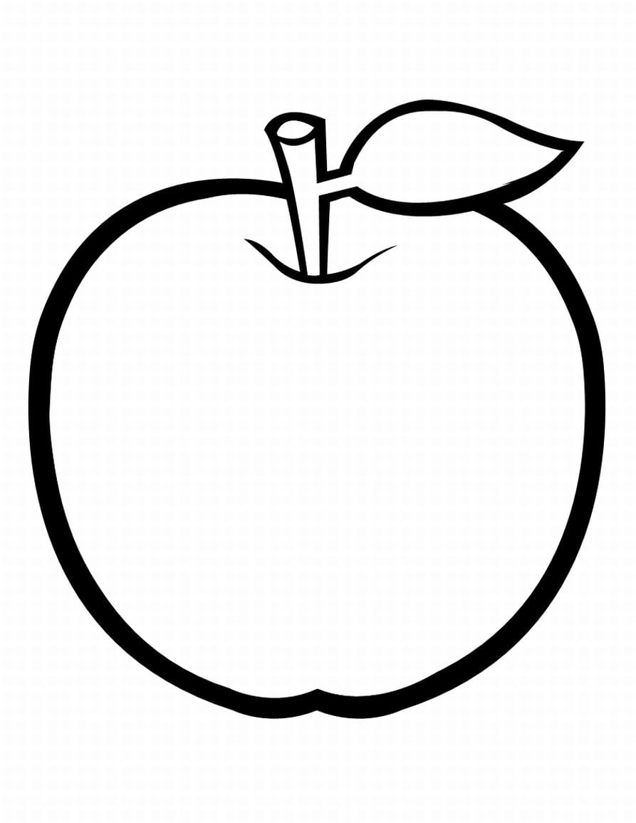 28 Coloring Pages For Apples, Coloring Page Apple Coloring Home