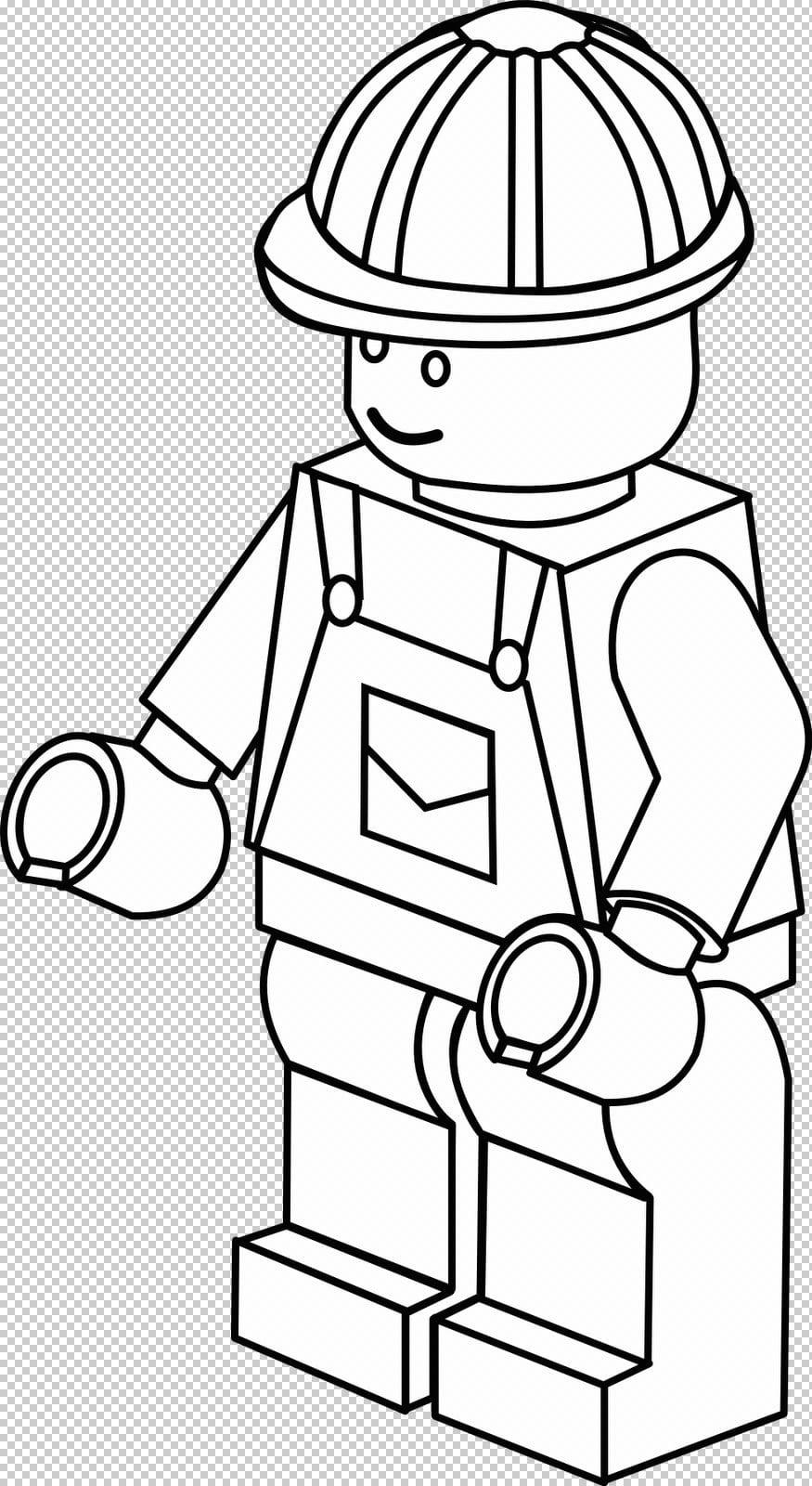 Lego City – Desenhos Para Pintar, Imprimir E Colorir – Desenhos