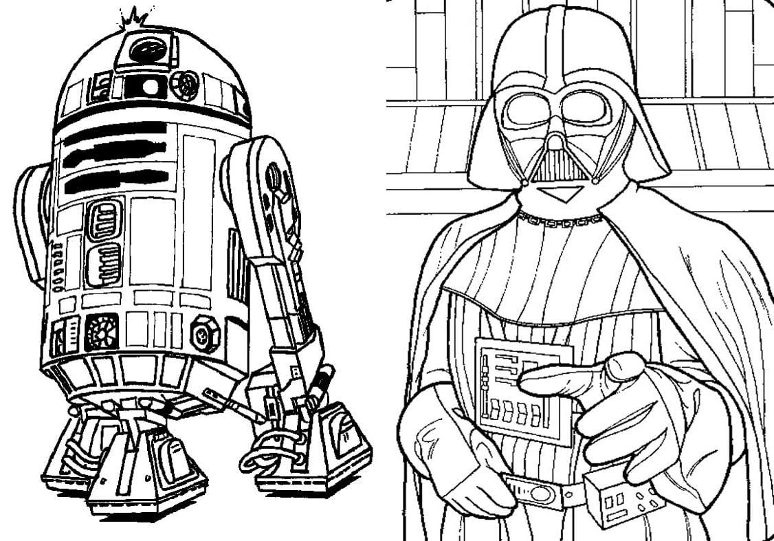 Livrinho De Colorir Star Wars 9