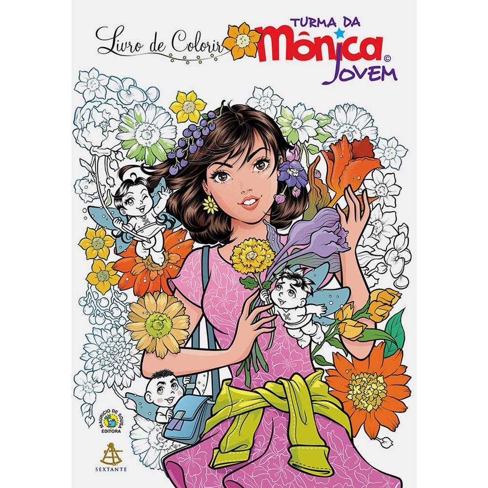 Livro – Turma Da Mônica Jovem  Livro De Colorir