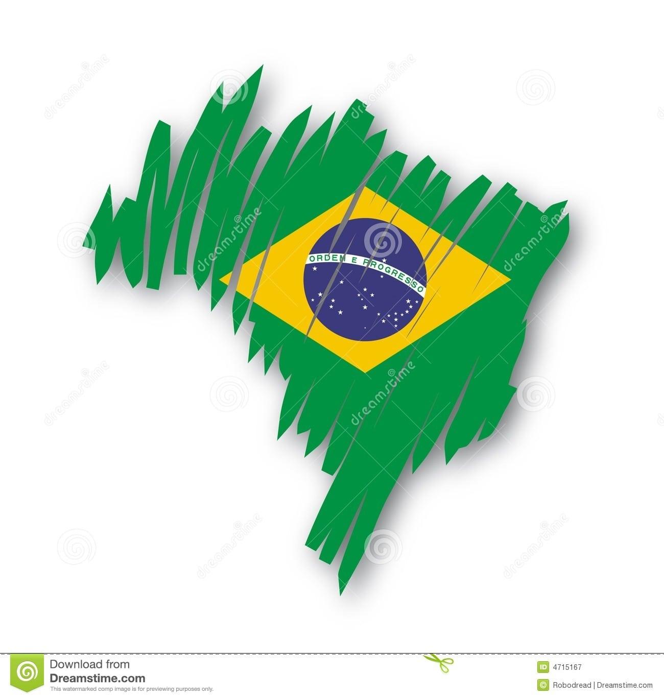 Mapa Brasil Do Vetor Ilustração Do Vetor  Imagem De Naturalize