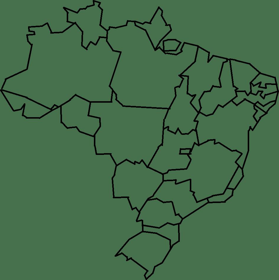 Desenhos Do Mapa Do Brasil Para Colorir – Pampekids Net