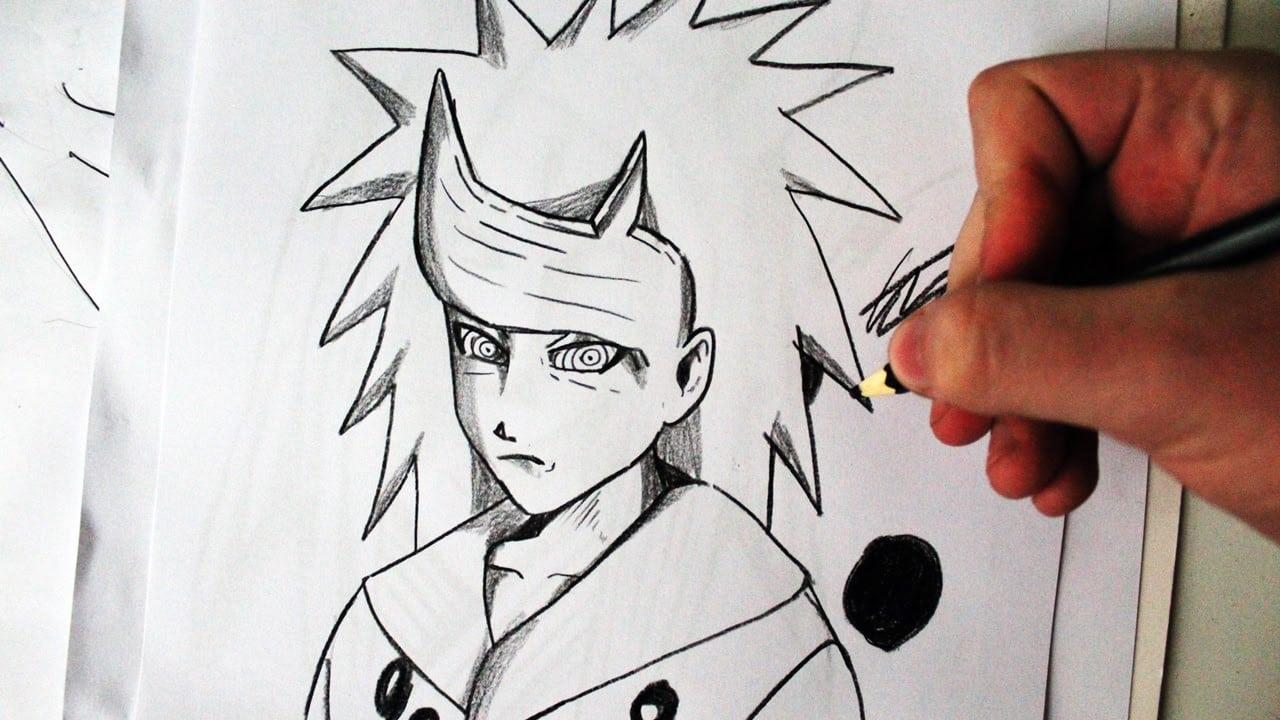 Como Desenhar O Rikudou Madara [naruto]