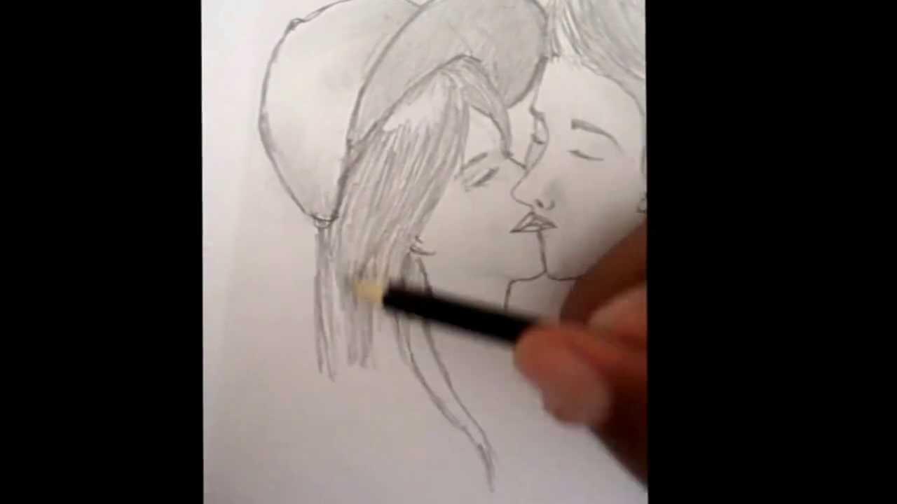 Desenhando Namorados Por Anilton No Estilo Mangá